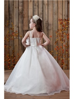 A-Line/Princess Floor length Flower Girl Dress
