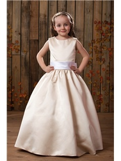 Amazing A-Line/Princess Floor length Flower Girl Dress