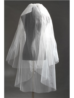 2 LayerFingertip Wedding Bridal Veils