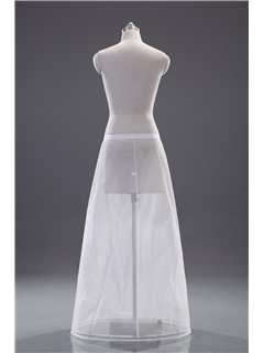 Simple Column Single Steel Wire Wedding Petticoat
