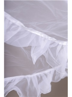 Charmin Edge Curl Cathedral Length Wedding Veil