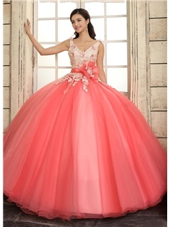 Designer Kids Clothes For Rent Lace up Quinceanera Dress