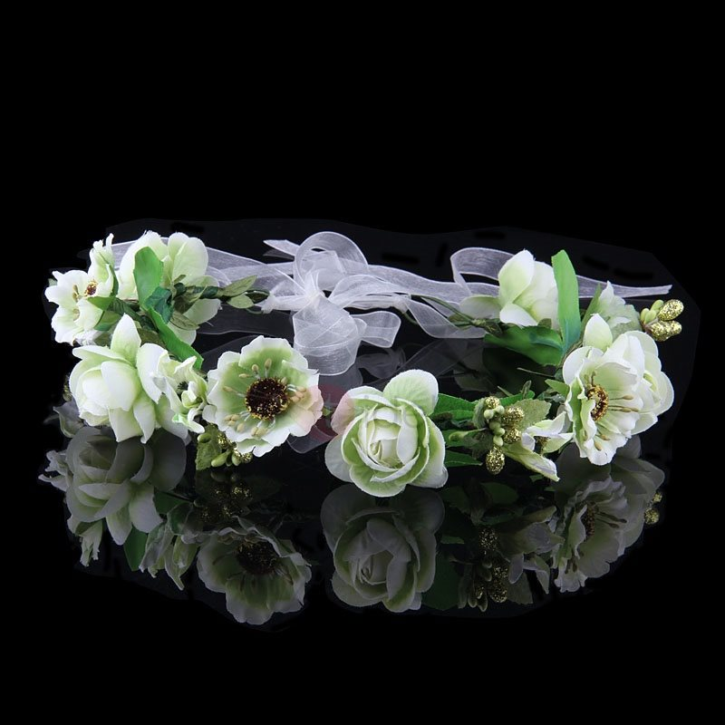 Fresh Bohemia Garland High-Grade Manual Seaside Bridal Garland Style Four