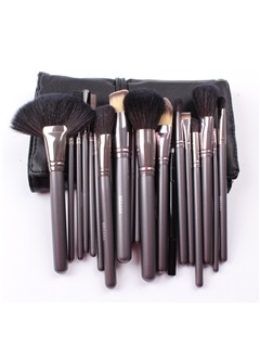21Pcs Wolf Hair Professional Make Up Brush Set