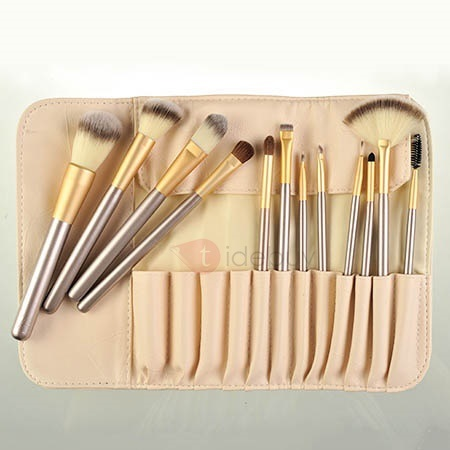 12Pcs Nylon Fiber Make Up Brush Set