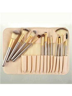 12Pcs Nylon Fiber Make Up Brush Set 3