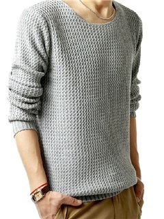Round Neck Long Sleeve Knitwear