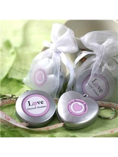 Personalized Wedding Gift Tape Lovers Key Chains