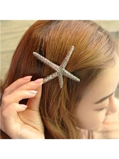 Starfish Shaped Hair Clip