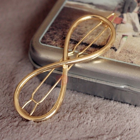 Infinity Design Alloy Hair Clip