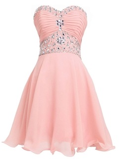 Stunning Sweetheart Lace-up Beaded Pleats Short Homecoming Dress & Homecoming Dresses from china