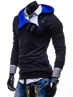 High Quality Fashion Solid Long Sleeve Man Hoody