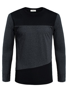 Men's Regular Fit Crew Neck Shirt
