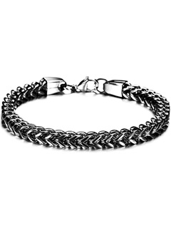 Personalized Alloy Men's Bracelet
