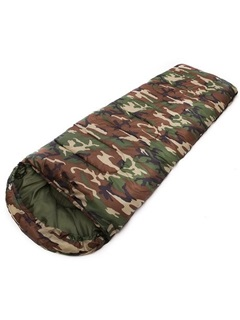 Cam-Print Nylon Sleeping Bag