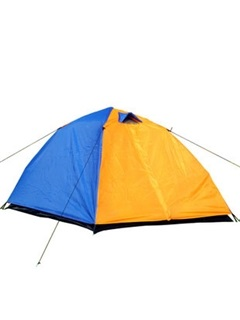 Double Layer Couple Easy-Up Outdoor Tent