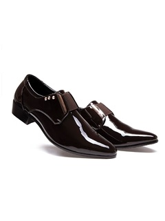 Rivets Pointed Toe Men's Dress Shoes
