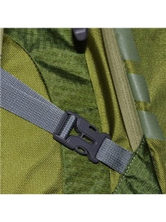 Casual Patchwork Zipper Hiking Daypack