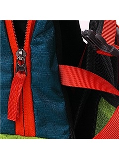 Durable Color Block Hiking Daypack