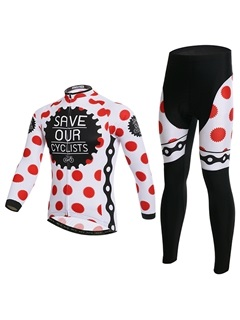 Moisture-Wicking Cycling Jersey And Pant