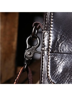 Vintage Style Business Genuine Leather Men Bag