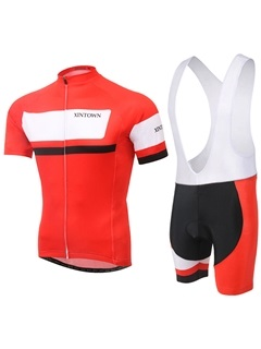 Streamlined Fit Full-Zip Cycle Jersey And Bib Shorts