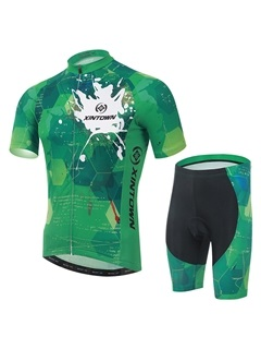 Polyester Sun-Protective Bike Outfit