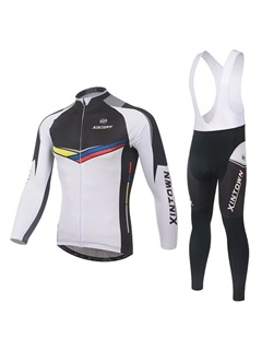 Color-Block Basic Cycling Jersey And Bib Tights