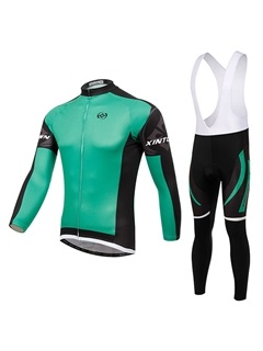 Polyester Fleece Winter Men's Cycle Outfit