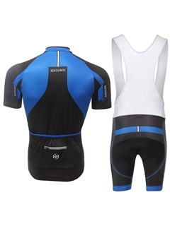 Color Block Summer Bike Jersey And Bib Shorts