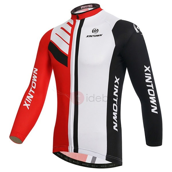 Multi-Color Long-Sleeve Cycle Jersey