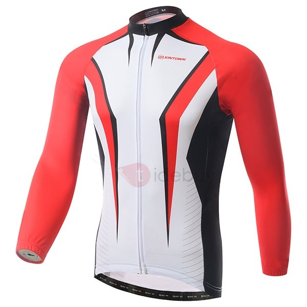 Full-Zip Long-Sleeve Cycle Jersey