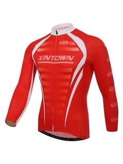 Full Zip Cycling Mens Jersey