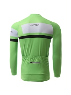 Polyester Long-Sleeve Men's Cycle Jersey