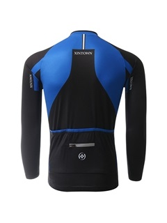 Color-Block Basic Cycling Jersey