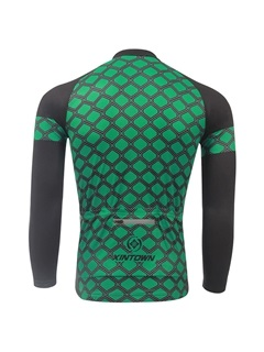 Streamlined Fit Long-Sleeve Men's Cycle Jersey