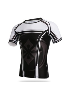Sun-Protective Men's Summer Cycle Jersey