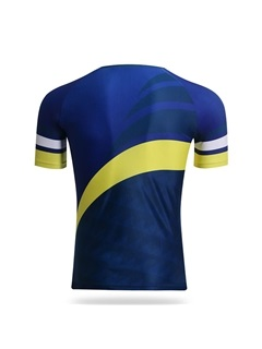 Contrasting Color Cycling Jersey