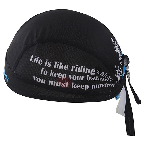 Letters-Print Cycling Cap