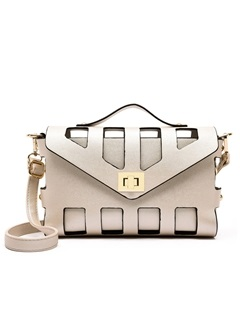 Hollow Pu Women Crossbody Bag