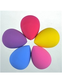 Drop Shape Dry Powder Puff (5 Pcs/Bag)