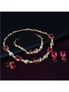 Beautiful Alloy Jewelry Set for Women