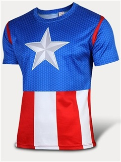 Lycra Color Block Men's Cycle Short-Sleeve Jersey