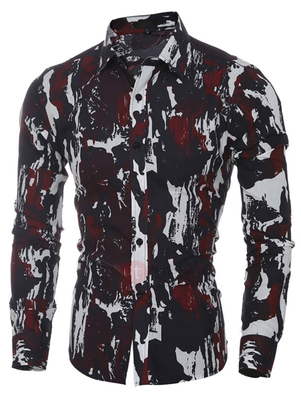 Vogue Camouflage Men's Casual Shirt