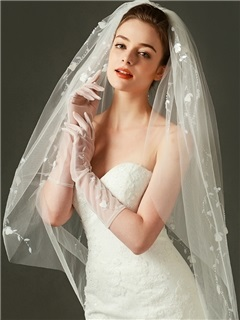 Beautiful Beaded Wedding Veil