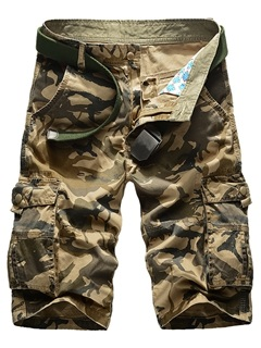 Camouflage Mens Pockets Overalls