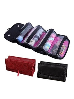 Folding Dacron Material Multi-Functional Ladies Storage Bag