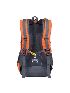 Hiking Nylon Multi-Pockets Zipper Sports Travel Backpack