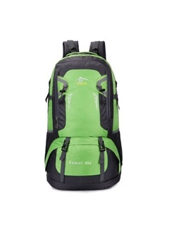 Large Space Back Honeycomb Cushion Functional Hiking Daypack