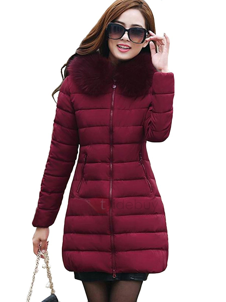 Special Zipper Warm Collar Overcoat